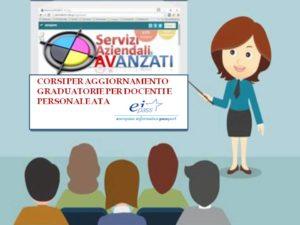 Aggiornamento graduatorie Docenti e Personale ATA